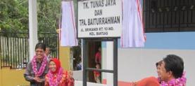 Peresmian TK Tunas Jaya